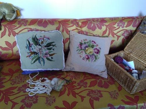 Mum's tapestries